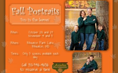 Fall Portraits in the park – fun photos in the leaves